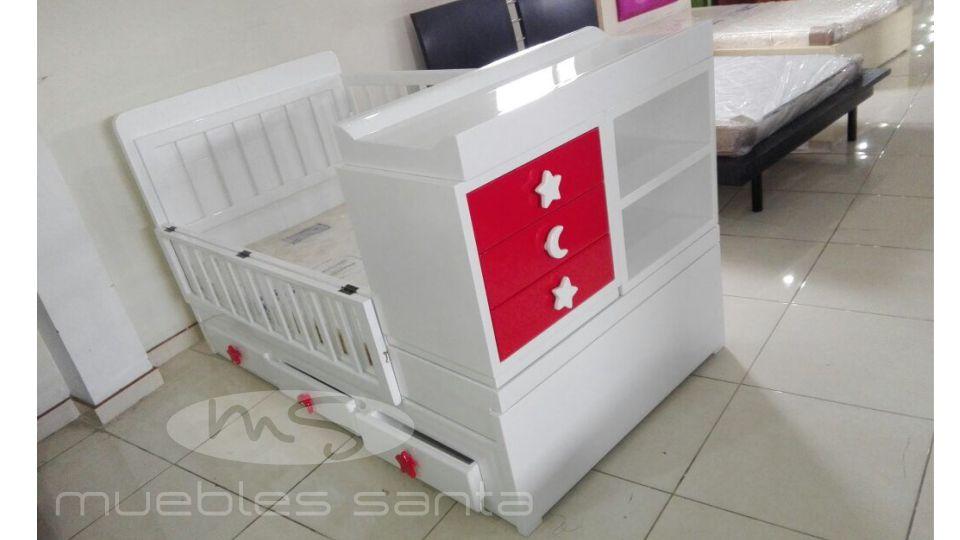 Cama Cuna Grecia - Muebles Santa