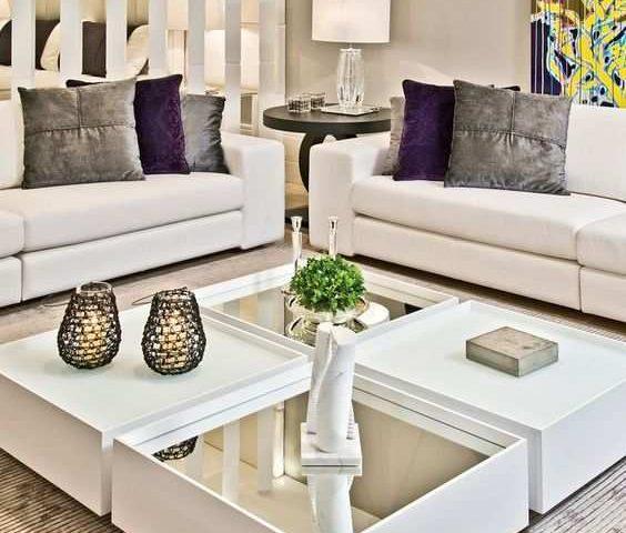 19 ideas para decorar una mesa de centro muebles santa. Black Bedroom Furniture Sets. Home Design Ideas